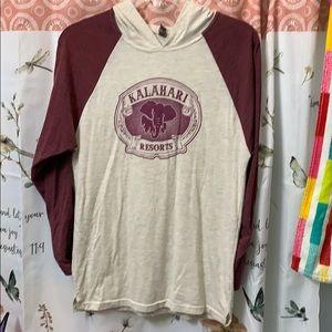 Elephant Jersey Tshirt Gryffindor Kalahari Hooded